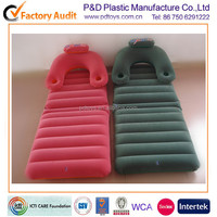 PVC inflatable reclining folding bed