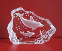 animal dolphin crystal iceberg decoration, small gift items