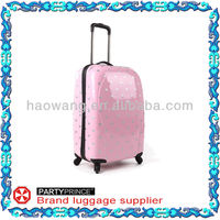PC-08121 silver dot product in stock luggage