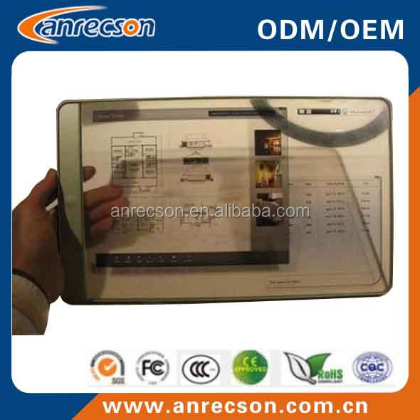 transparent lcd touch screen,transparent glass touch screen ,transparent lcd smart video glass