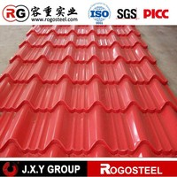 Alibaba china galvanized sheet metal roofing