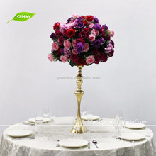 GNW CTR1601001-01 New hot mix colors rose ball wedding centerpieces for tables
