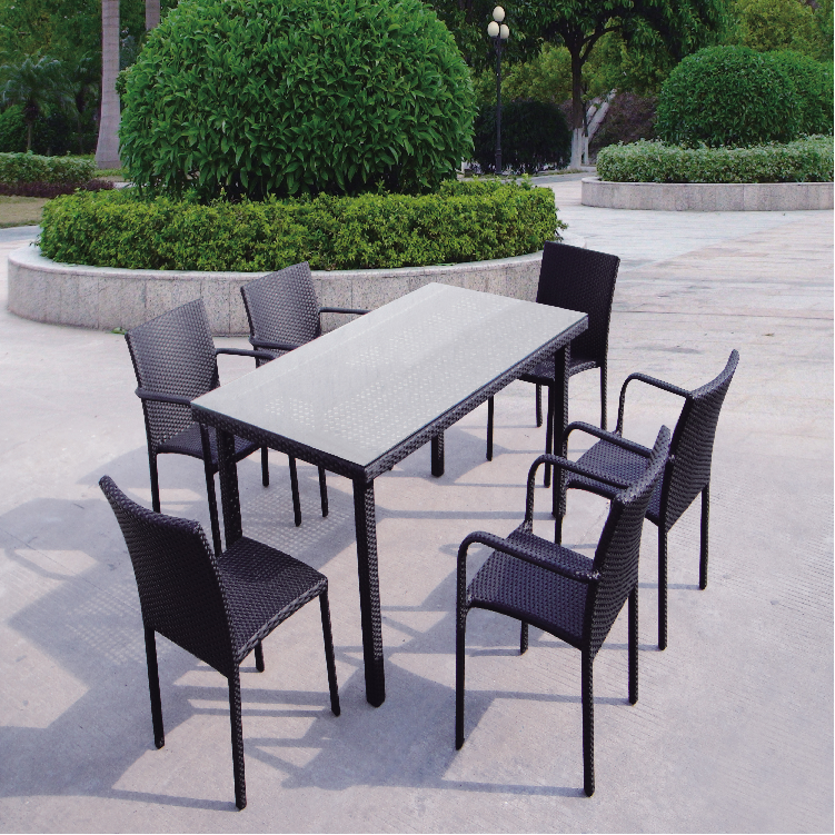 foshan shunde garden patio dining tables chairs sets MD-D119
