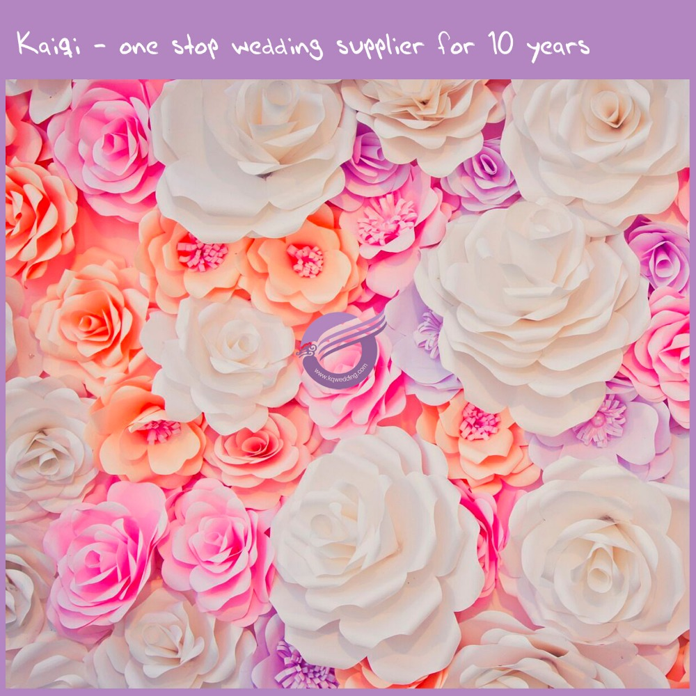 k7146-2 popular hot wall decoration handmade large fashion show paper flower