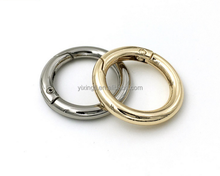 Shiny silver color Inner diameter 25mm 38mm metal ring spring o ring
