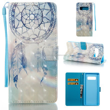 Best Selling 3D Fashion Design Phone PU Leather Case for Samsung Galaxy Note8