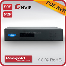 4CH face recognition POE NVR P2P 512M RAM with local and web picture capture fuction