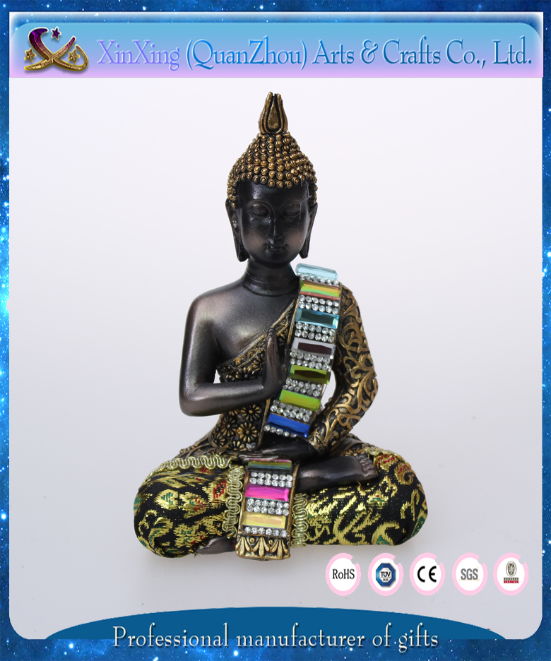 wholesale souvenir resin buddha figures for home decoration