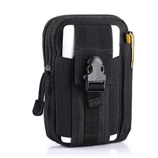 Tactical Carry Accessory Tool Waist Bag Belt Pack Pouch Case with Shoulder strap for Smart Phones