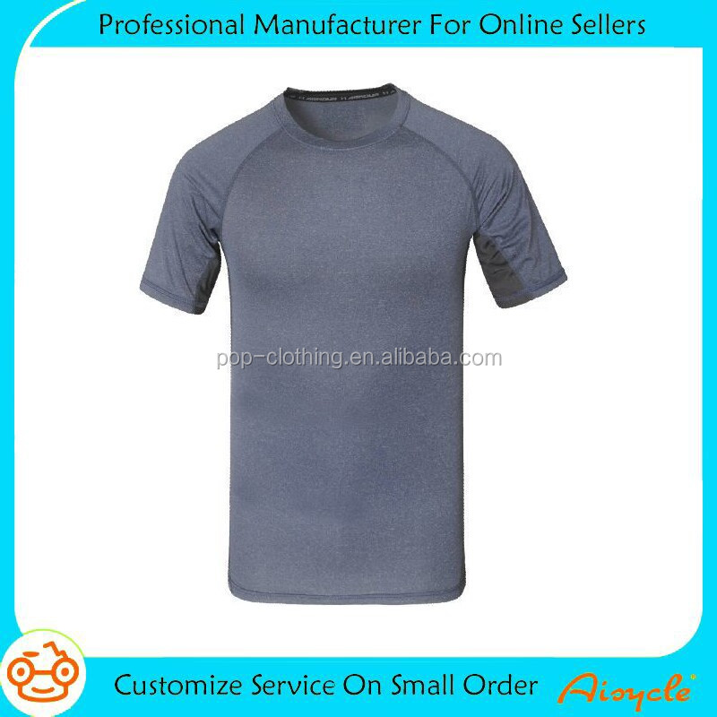 Wholesale gym clothing sports t shirt, top selling high quality fitness wear
