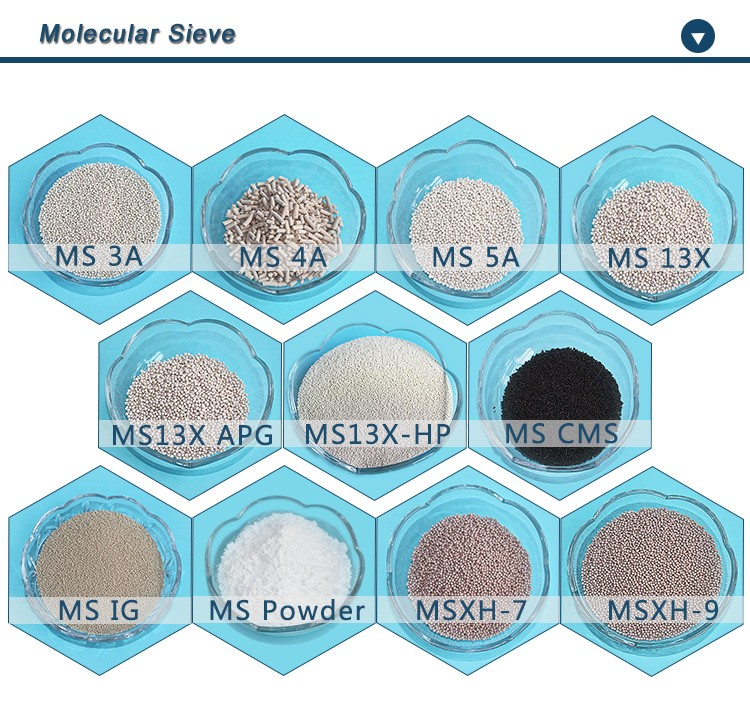 Chemical popular zeolite molecular sieve for methanol drying and purification