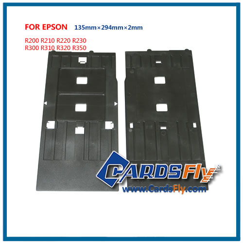 Retail/wholesale r230 pvc id card tray for epson printer