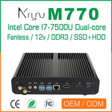 wholesale i7 firewall computer NO monitor NO fan Mini PC