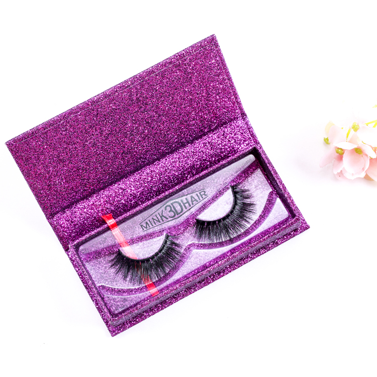 3d mink eyelashes with custom box  private label mink eyelashes 3d luxury mink lashes