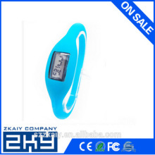 Mens Womens Digital LED Touch Sports Silicone Bracelet Waterproof Wrist Watch