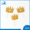 Popular U.S Standard Glitter Crown Cupcake Toppers