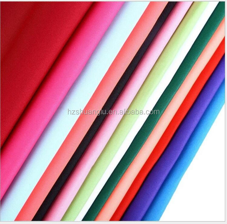 100% polyester super poly knit <strong>fabric</strong> for sportswear and school uniform