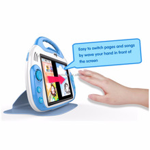 OEM Baby Kids' Touching Learning Pad 7 inch android tablet pc with different language.