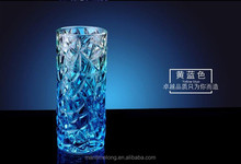 Creative gifts home thicken ice crystal glass vase decorative glass vase glass flower vase