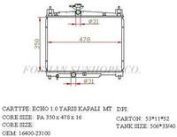 Efficient auto spare parts radiator tanks