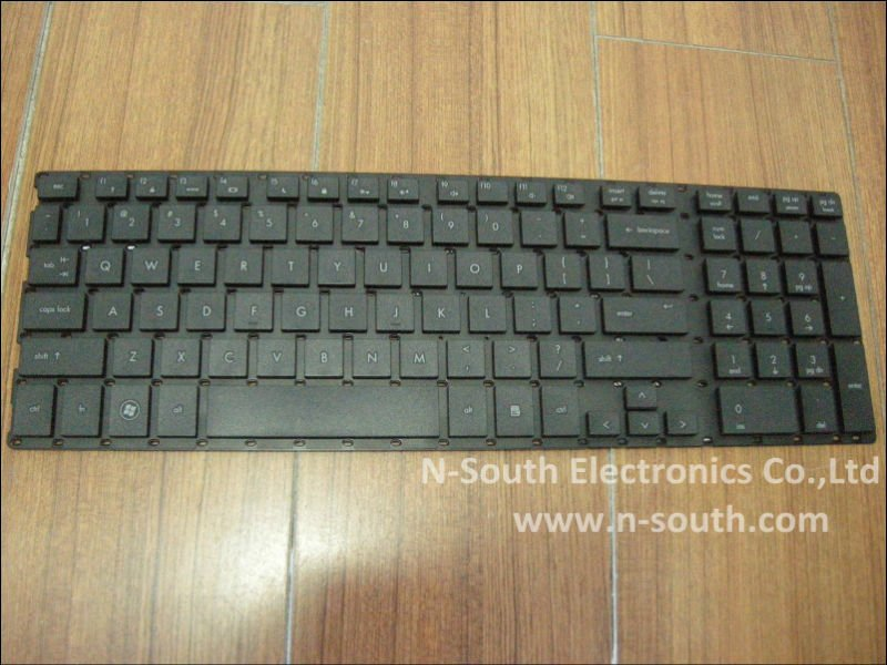 laptop keyboard For hp probook 4510s 4515s 4710s 4750s black US Notebook Keyboard 516884-001