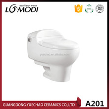 Hot sell South America ceramic One Piece Toilet/portable toilet