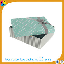 cardboard gifts box custom packaging small quantity