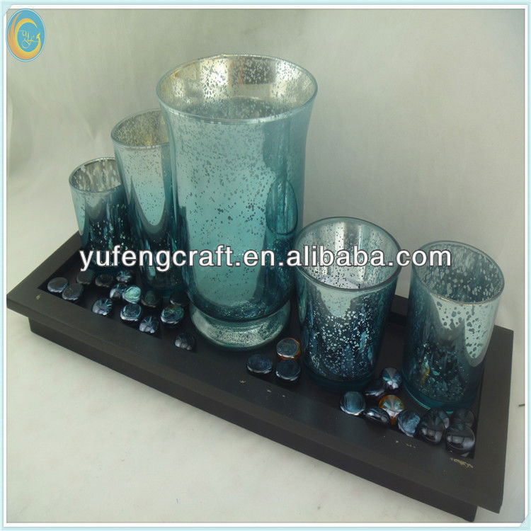 glass cup candle holder made in china