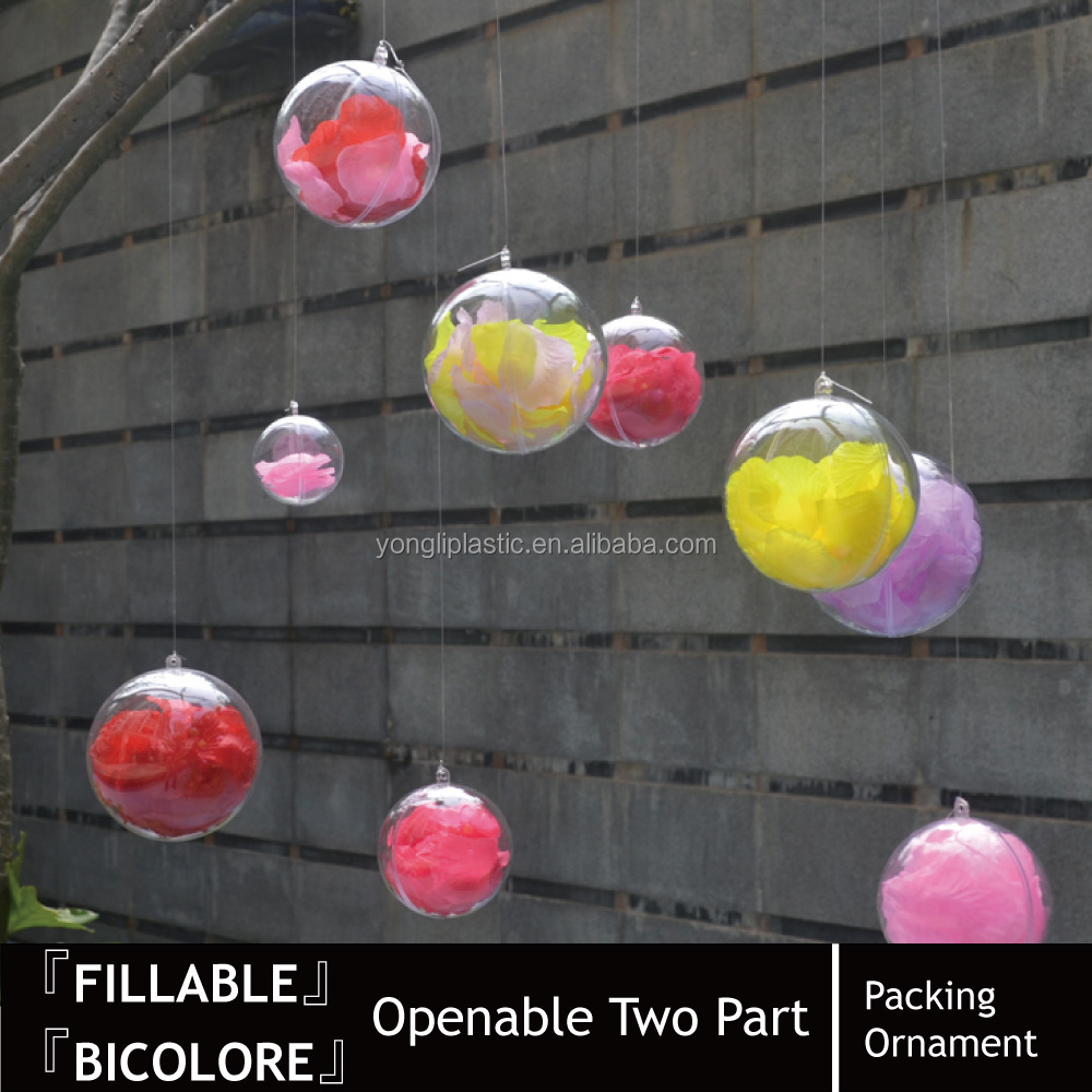Decorating Ideas Plastic Christmas Ball Garland Ornaments