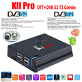"Videostrong high-end 2g/3G+16G/32G T2+S2 2017 best smart tv box 7.0"" android smart tv box 4k satellite receiver"