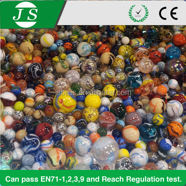 wholesale handmade round custom toy glass marbles for kids