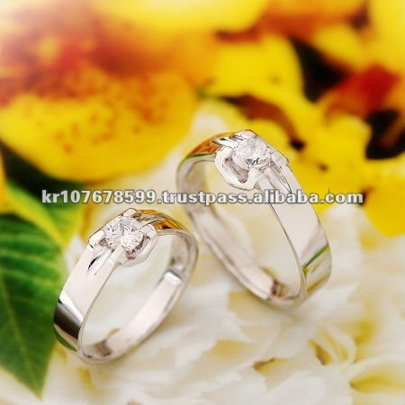 925 silver couple ring