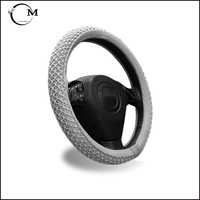 Silicone car accessories steering wheel cover for mercedes benzs c180