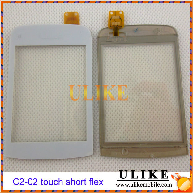 Wholesale touch For Nokia C2-02 Touch Digitizer Screen (short flex)