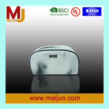 Wholesale Marble Printed Genuine Leather Cosmetic Bag for Ladies Travel Makeup Bags Leather Pouch Organizer