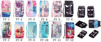 Fashion wallet leather case for Samsung Galaxy S4 I9500 detachable design