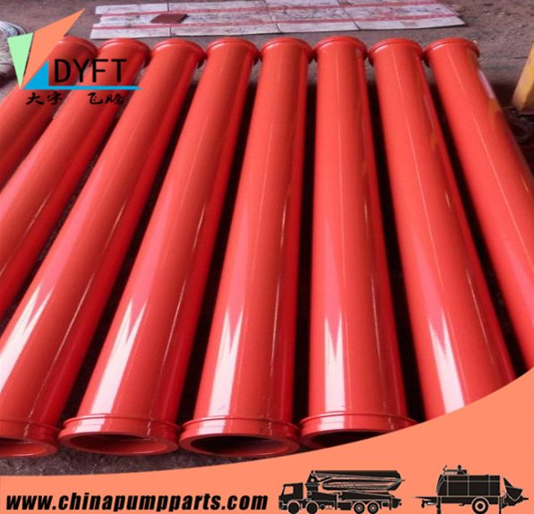 trucks and trailers parts concrete pump seamless pipe / telescoping pipeline