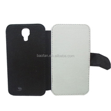 blank sublimation custom leather mobile phone case for Samsung S4