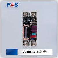 electrical mcb 2p, ce certified rccb, residual current circuit breaker rccb 2p 40a