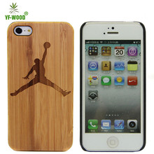 China factory smart mobile phone case cover wood for iphone 5