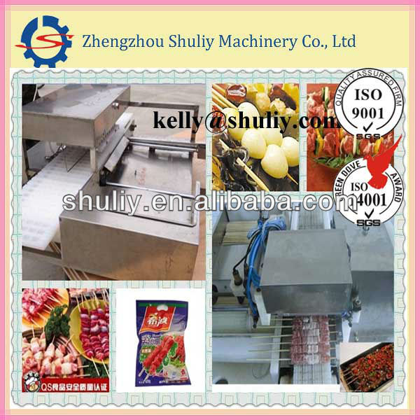 hot sell roasting mutton wearing machine(0086-15238618565)