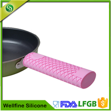 Heat Resistant Silicone Pot Handle,Custom Silicone Handle Cover