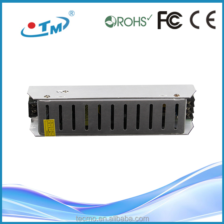 80W electronic led converter 12v 10a power supply With CE RoHS FCC