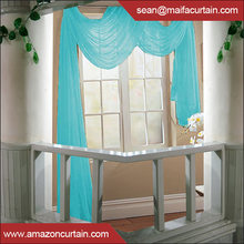 Latest New Models 2016 Valances Colors Floral Tulle Voile Door Window Curtain Drape Panel Sheer Curtain