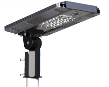 Customized li-ion Battery Solar Power System Integrated Solar Street Led Light PIR Motion Sensor
