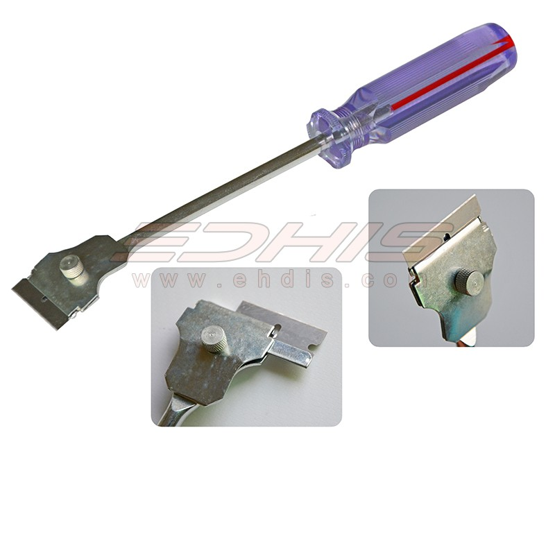 stainless steel scraper / professional automotive tool / industrial floor squeegee