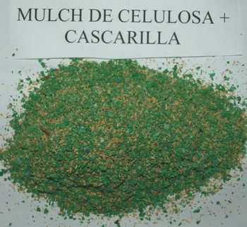 50/50 fine hydroseeding mulch with cellulose