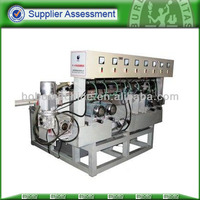 New horizontal single line glass edge grinding machine