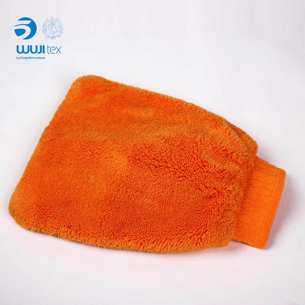 microfiber hand gloves for cleaning factory professionally custom