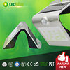 IP65 waterproof motion sensor solar garden light